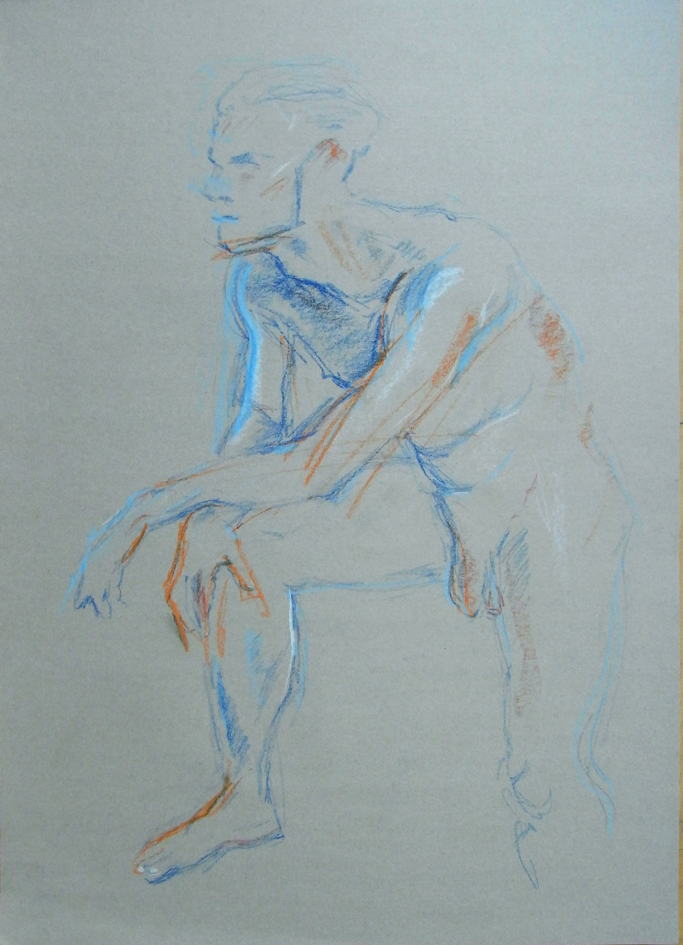 drawing of a young man 2014